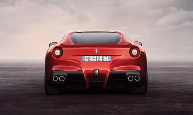Ferrari Berlinetta rear
